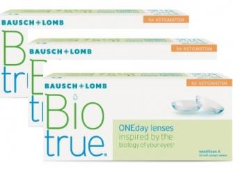Biotrue 1 day for astigmatisme 90 pack