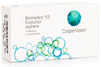 Biomedics 55 Evolution (6 Pack)